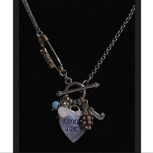 Juicy Couture Charm Heart Necklaces Jewelry